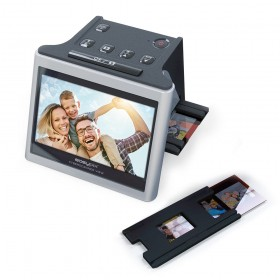 "Scaner de film și diapozitive 3in1 Easypix Cyberscaner  senzor 14MP , Afișaj 5 "" Rezoluție optica până la 22MP"