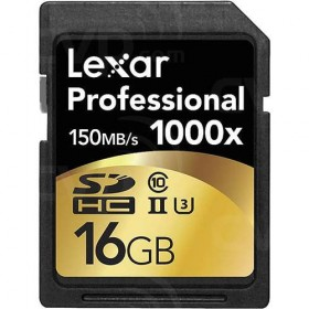 Lexar Professional SDHC 16GB 1000X UHS-I 150MB/s