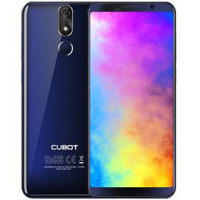 "Telefon Mobil CUBOT POWER, 4G, 5.99"" FHD+, 6+128GB, Android 8.1, Albastru (include Husa Silicon si Folie)"