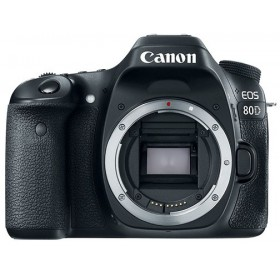 Canon EOS 80D Body, eTTL FLASH KIT