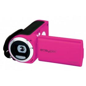 Camera Video Compacta EasyPix DVC5227 Flash, Video HD, Galben + Bonus: SD 4GB