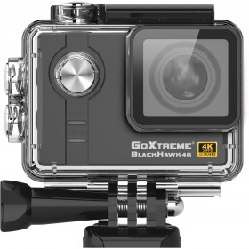 Camera Video Sport GoXtreme Black Hawk 4K @30fps, Senzor Sony IMX117 12.4 MPx, Procesor Ambarella 12, Instantanee 16 MPx (Include 6 Accesorii), KIT