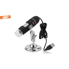 Microscop digital Media-Tech MT4096, USB, focus 15-40 mm, 8 x LED, 500x
