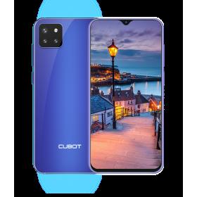"""Cubot X20 PRO, 6.3"""" FHD+, 6+128GB, Android 9, Albastru +Husa +Folie"""