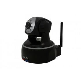 Camera IP Media-Tech HD 720p pentru utilizare la Interior, WiFi, Supravechere Video si Audio de pe Mobil si PC, Detectare Miscare, 8 LED-uri pentru Vedere de Noapte