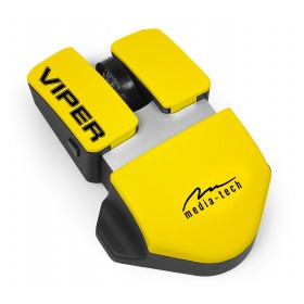 Mouse Optic Media-Tech VIPER, 3 Butoane, Scroll cu Iluminare, 800/1200/1600 dpi, USB