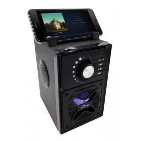 Boxa Portabila 2.1 Media-Tech BOOMBOX BT NEXT, 15W RMS, Port USB, Radio FM, MP3 Player, Negru