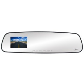 Camera Auto Media-Tech U-DRIVE MIRROR LT, Tip Oglinda Retrovizoare cu DVR, HD 720p, Wide, Display 2.7inch, montare facila, pornire la cheie