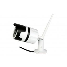 Camera IP Media-Tech FullHD 1080p pentru utilizare la Exterior, Supraveghere Video de pe Mobil si PC, Detectare Miscare, LED-uri Infrarosu pentru Vedere de Noapte, Slot Micro-SD