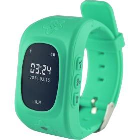 Smartwatch Media-Tech Kids Locator GPS, Dispozitiv pentru localizarea copiilor prin GPS (Compatibil Android 4.2 sau mai recent, iOS 6.0 sau mai recent), Verde