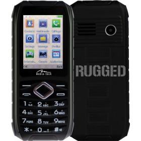Telefon Dual SIM Media-Tech Storm IP 67 cu Ecran 2.4inch, cu Functie Vibratii, Ecran LCD, Baterie Litiu 2000mAh, Culoare Negru