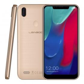 """Telefon Mobil Leagoo M11, 4G, 6.18"""", 2+16GB, Auriu +Casti +Husa si Folie"""