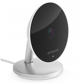 Camera IP Polaroid HOOP, Conectare Rapida, Sistem de montare versatil, Sistem de alerta inteligent adaptiv, Privat si Sigur, Imagini clare si precise, Infrastructura Cloud, Compatibil IoT