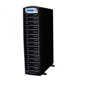 Vinpower Premium Shark Duplicator Hdd+14 Blu-Ray/CD/DVD tower cu HDD 500GB, Unitati Optice Pioneer 12x, USB 2.0