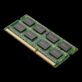 Memorie RAM PNY, 4GB DDR3 SODIMM, PC3-12800 1600MHz, CL11 pentru Notebook