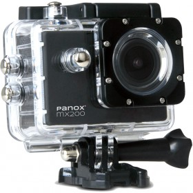 Camera Video Sport Panox MX200, 720p, Negru (Include 6 Accesorii)
