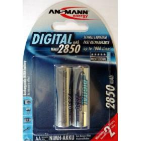Acumulatori Ansmann NiMH R6 2x2850 mAh