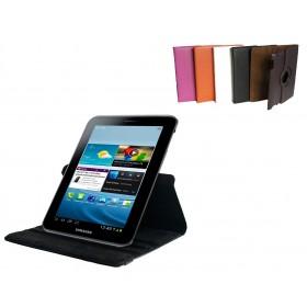 Husa tip Smart Cover Rotativ pentru Tablete Samsung 7inch