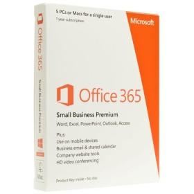 Microsoft Office 365 Small Business Premium 32-bit/x64 Engleza Subscriptie 1 an