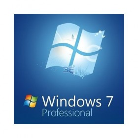 Microsoft Windows 7 Professional, 32 bit English OEM SP1