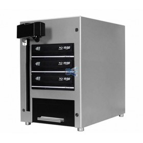Vinpower Cube Duplicator Automat 1 x DVD/CD, Capacitate 25 discuri, HDD 320GB, Unitati Optice 24X Sony LightScribe